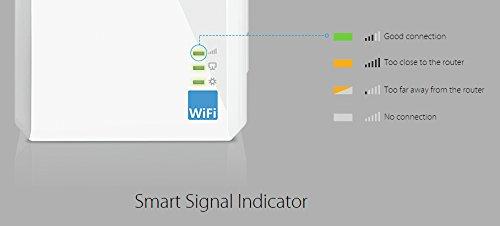 TP-Link TL-WA860RE WLAN Repeater(300 Mbit/s, 1 Port, integrierter Steckdose, 2 flexible externe Antennen, WPS, kompatibel mit allen WLAN Geräten) - 6